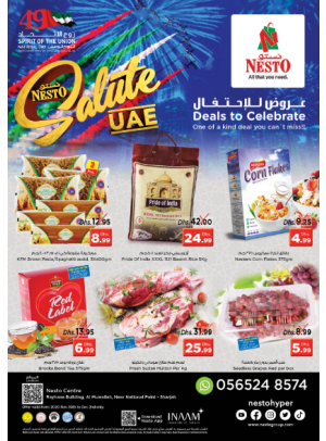 Deals To Celebrate - National Paints, Sharjah