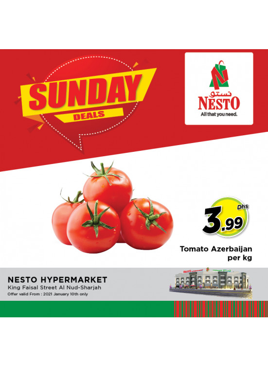 Sunday Deals - Al Nud, Sharjah