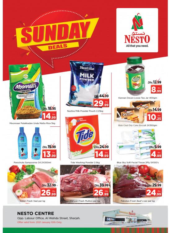 Sunday Deals - Al Wahda