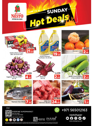 Sunday Deals - Hor Al Anz