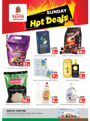 Sunday Deals - Ras Al Khaimah