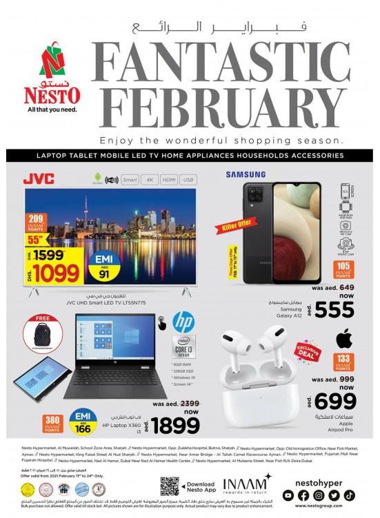 Fantastic February Deals