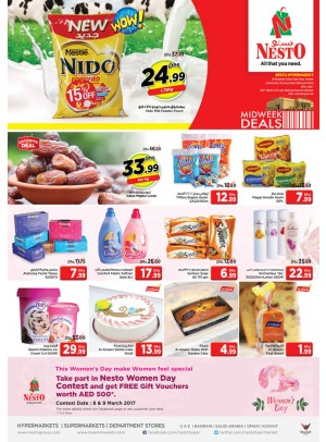 Midweek Deals Nesto At Muwailah Sharjah