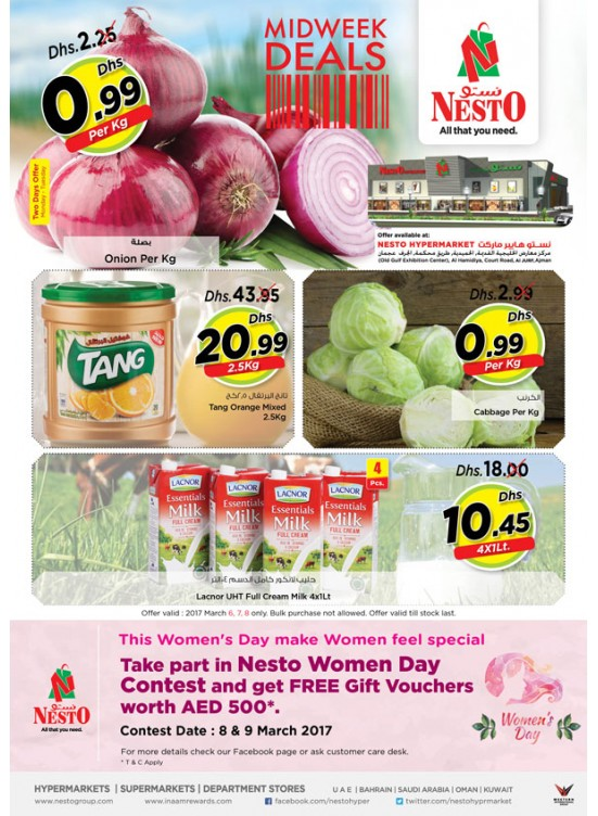 Midweek Deals Nesto At Jurf Ajman