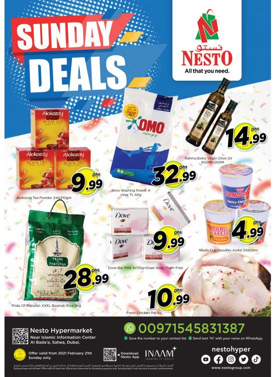 Sunday Deals - Satwa