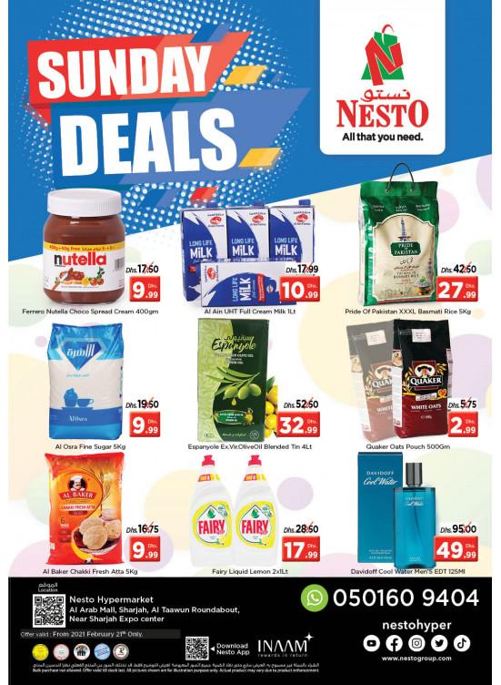 Sunday Deals - Arab Mall
