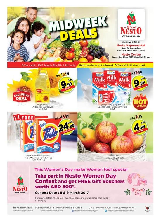Midweek Deals Nesto At Opp. GMC Hospital & Nuaimiya Ajman