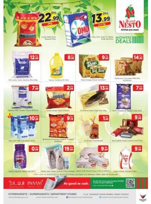 Midweek Deals Nesto At  JABEL ALI