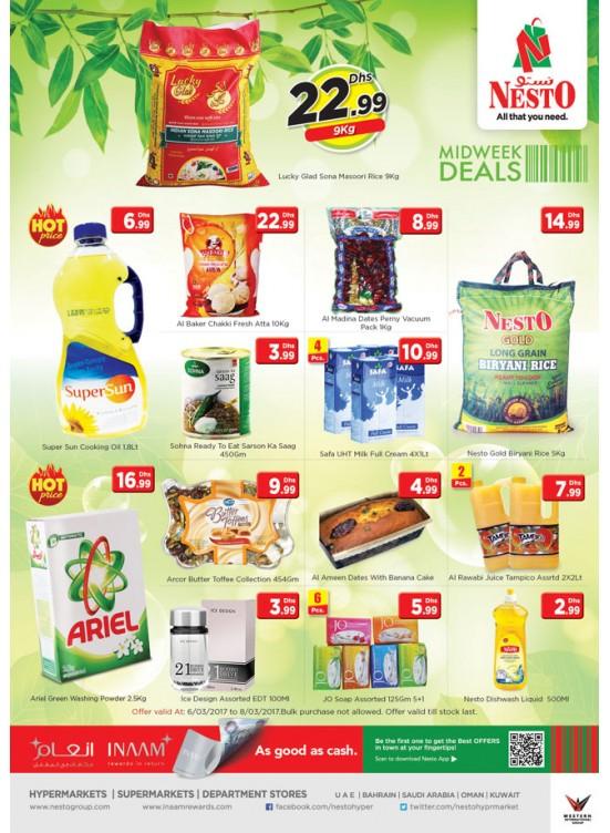 Midweek Deals At Nesto Jafza