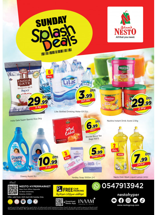 Sunday Deals - Near Karama Post Office, Dubai