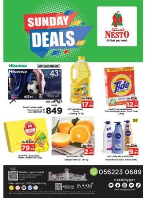 Sunday Deals - Al Nabba, Sharjah