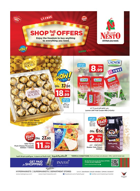 Shop full of Offers at Nesto