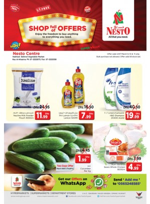 Shop full of Offers at Nesto Ras Al Kahima