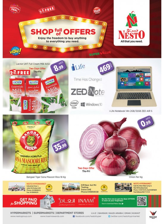 Shop full of Offers at Nesto Dubai