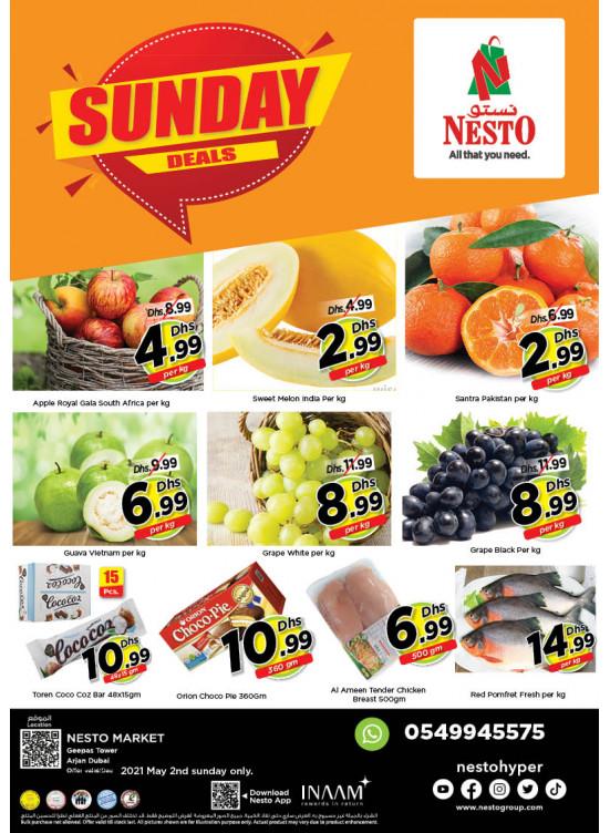 Sunday Deals - Arjan