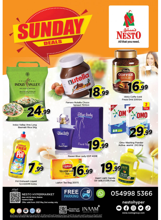 Sunday Deals - Al Karama, Dubai