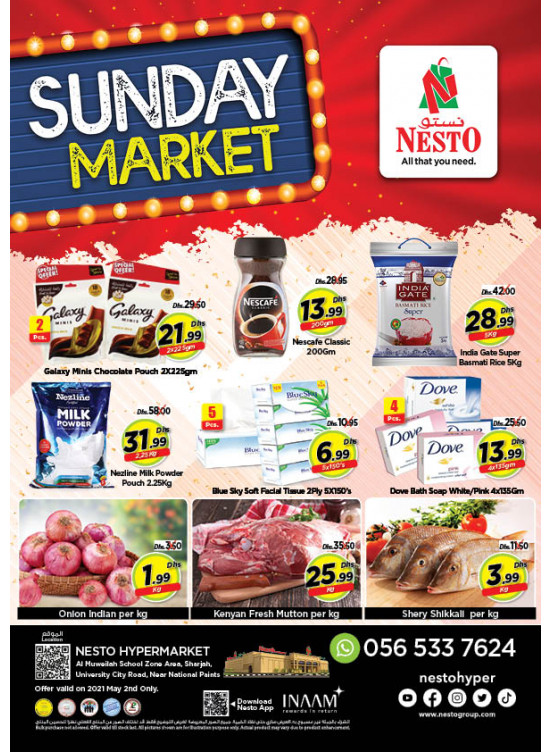 Sunday Deals - Muweilih, Sharjah