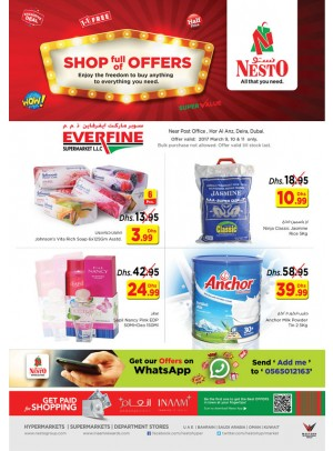 Shop full of Offers at Nesto Everfine Dubai