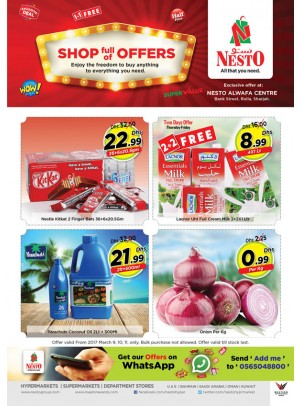 Shop full of Offers at Nesto Rolla Sharjah