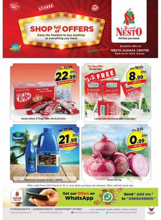 Shop full of Offers at Nesto Rolla Sharjah