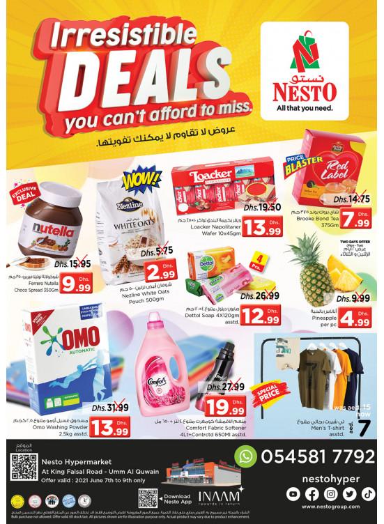 Midweek Deals  -  Umm Al Quwain
