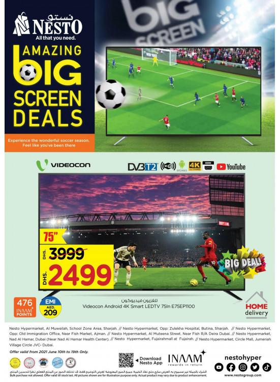 Amazing Big Screen Deals