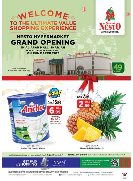Grand Opening At Arab Mall Sharjah