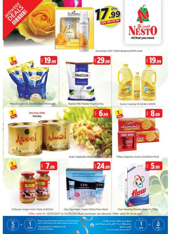 Midweek Deals Nesto At Everfine Hor Al Anz