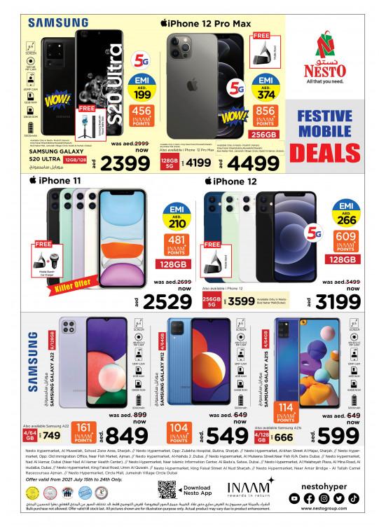 Festive Mobile Deals