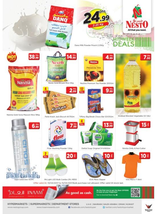 Midweek Deals Nesto At  Jafza