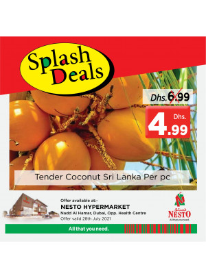Splash Deals - Nadd Al Hamar