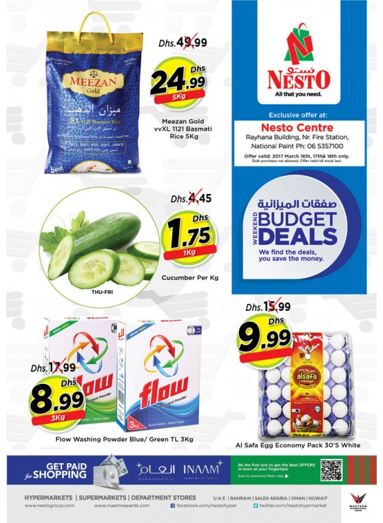 Budget Deals at National Paint Sharjah