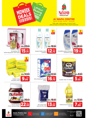 Midweek Deals - Rolla Sharjah