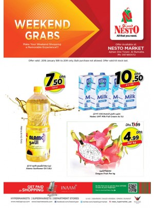 Weekend Grabs - One Tower Al Rumailah, Ajman