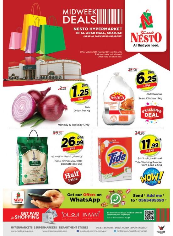 Midweek Deals Nesto At Arab Mall Sharjah