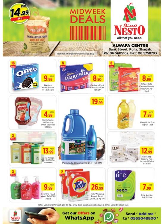 Midweek Deals Nesto At Rolla Sharjah