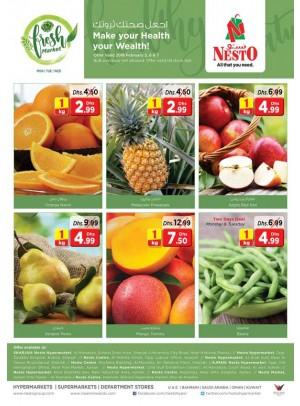 Fresh Market Deals - Ajman, Sharjah & Ras Al Khaimah Branches