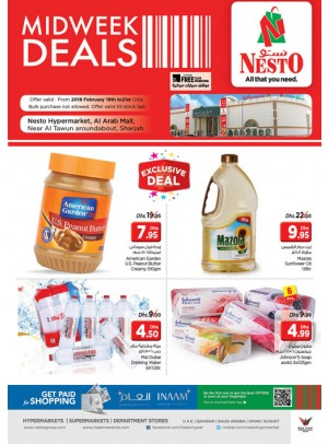 Midweek Deals - Arab Mall Sharjah