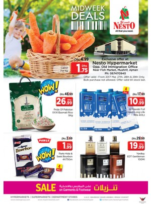 Midweek Deals Nesto At Mushrif Ajman