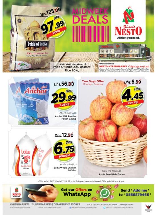 Midweek Deals Nesto At Jurf Ajman