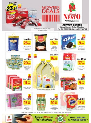 Midweek Deals Nesto At Rolla Sharjah