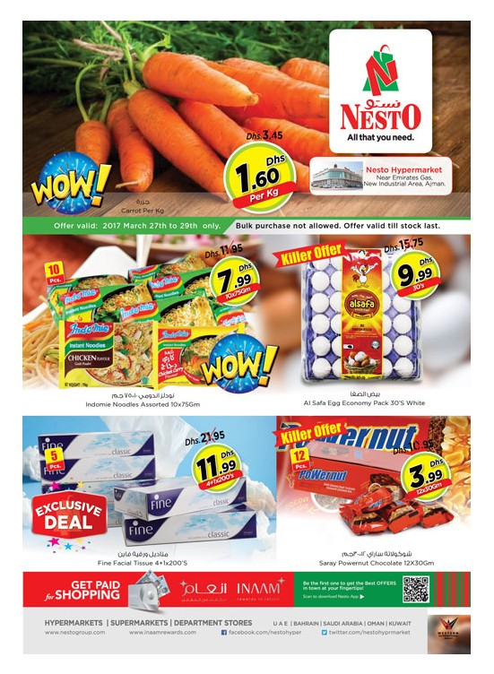 Midweek Deals Nesto At Opp. GMC Hospital