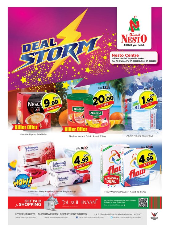 Weekend Grabs at Nesto Ras Al Khaima