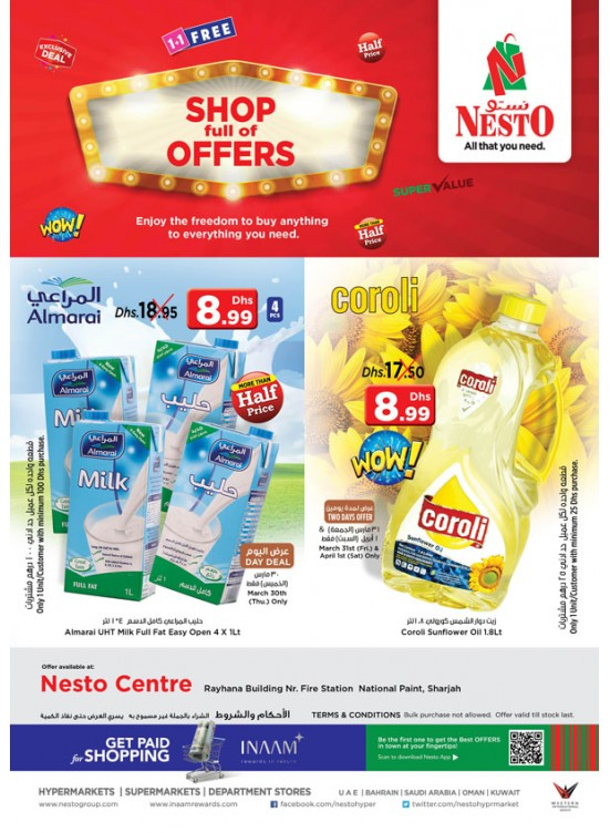 Weekend Grabs at Nesto National Paint Sharjah