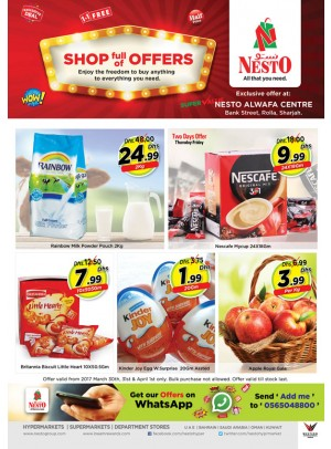 Weekend Grabs at Nseto Rolla Sharjah