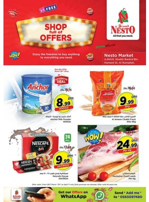 Weekend Grabs at Nesto One Tower Ajman