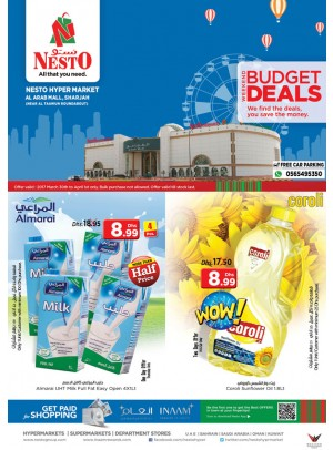 Weekend Grabs at Nesto Arab Mall Sharjah