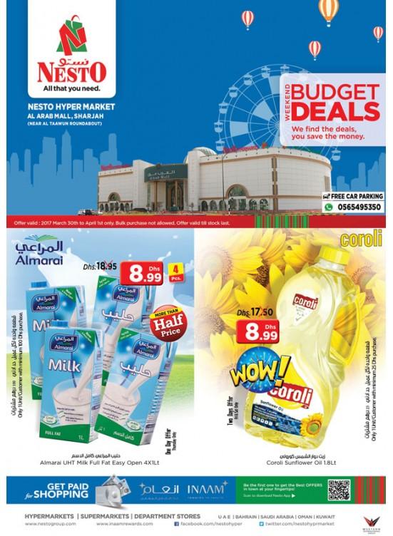 Weekend Grabs at Nesto Arab Mall Sharjah