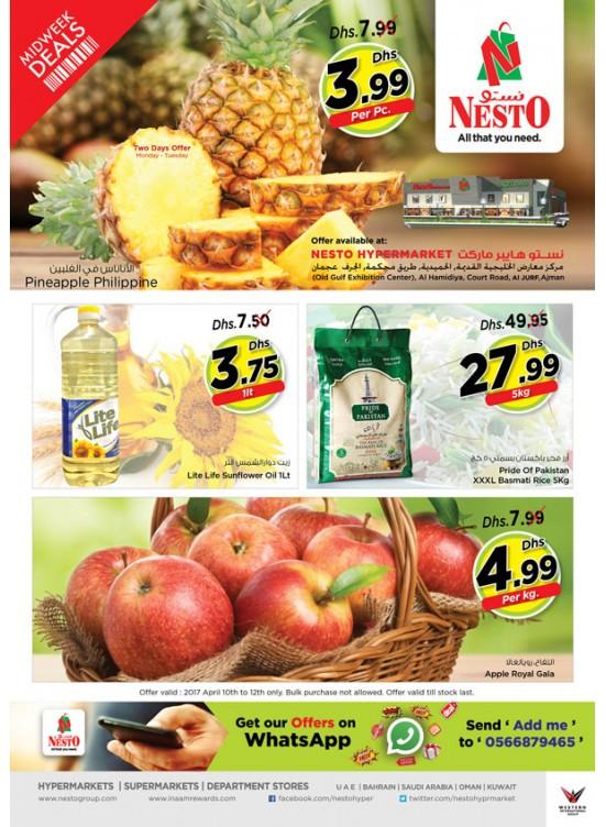 Midweek Deals - Jurf Ajman