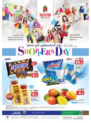 Shopper's Day - Sharjah, Ajman, RAK